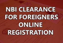 NBI CLEARANCE FOR FOREIGNERS ONLINE REGISTRATION