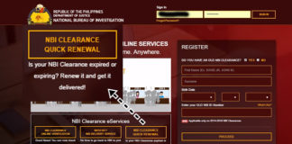 HOW TO APPLY FOR NBI CLEARANCE QUICK RENEWAL WEBSITE