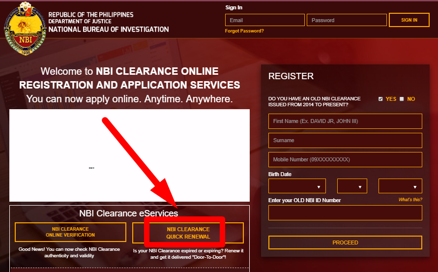 HOW TO APPLY FOR NBI CLEARANCE QUICK RENEWAL WEBSITE nbi clearance quick renewal NBI CLEARANCE QUICK RENEWAL STEP BY STEP HOW TO APPLY FOR NBI CLEARANCE QUICK RENEWAL WEBSITE