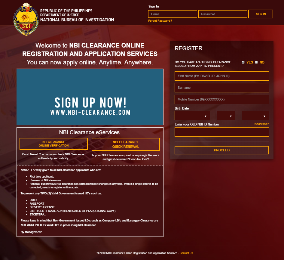 Guide to Apply NBI Clearance Online apply nbi clearance online GUIDE TO APPLY NBI CLEARANCE ONLINE Guide to Apply NBI Clearance Online