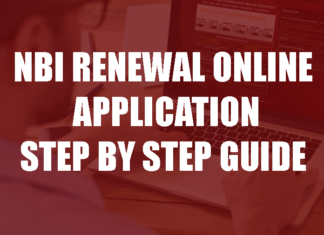 NBI RENEWAL ONLINE APPLICATION STEP BY STEP GUIDE