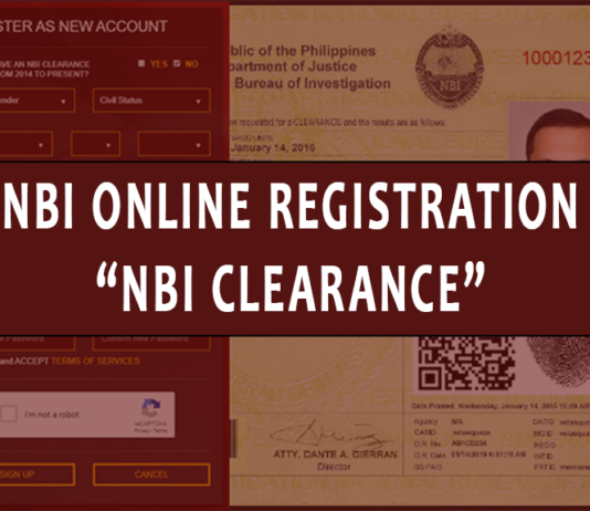 NBI Online Registration NBI Clearance