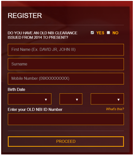 Register - NBI Online Registration nbi online registration NBI ONLINE REGISTRATION | NBI CLEARANCE Register NBI Online Registration