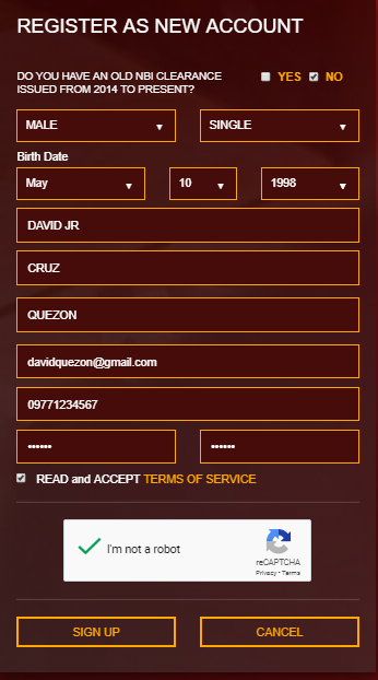 REGISTER AS NEW ACCOUNT FOR NBI CLEARANCE ONLINE APPLICATION FOR 2021 nbi clearance online NBI CLEARANCE ONLINE APPLICATION FOR 2021 REGISTER AS NEW ACCOUNT FOR NBI CLEARANCE ONLINE APPLICATION FOR 2019